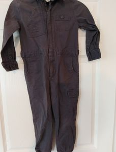 Cat and Jack Boys long sleeve coveralls Size 5